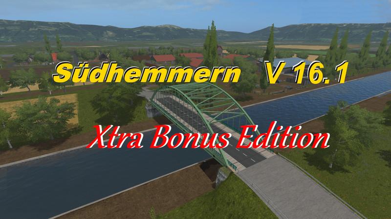 FS 17: Südhemmern v Xtra Bonus V 16 1 Maps Mod für Farming Simulator 17