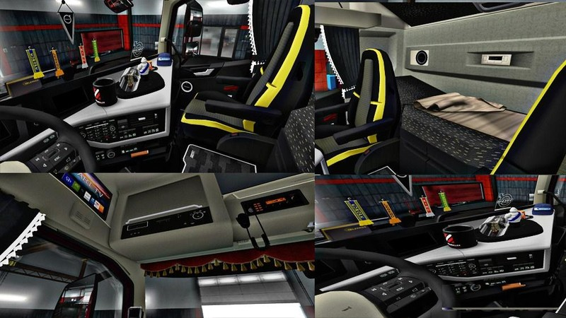 ets 2: New Volvo FH16 Accessoirs + Interieur [1.31x] v 4.5 Volvo Mod ...