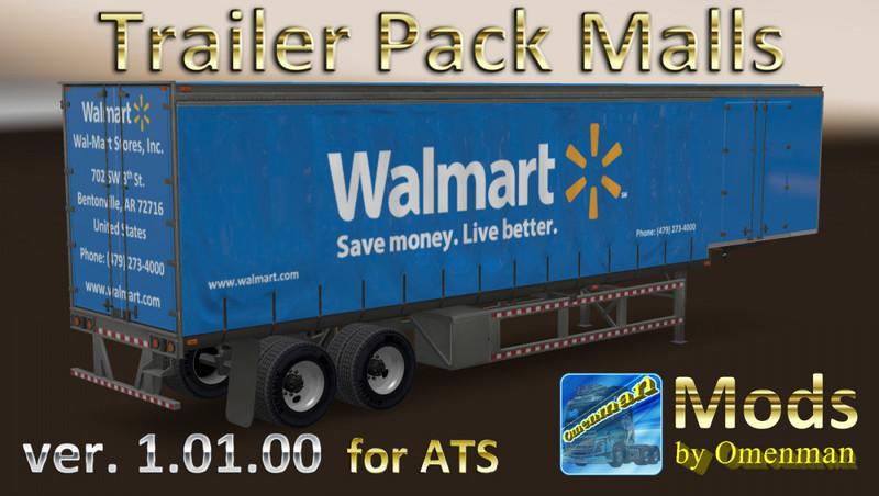 ats: Trailer Pack Malls v1 01 00 1 31 x v 1 01 00 Trailer
