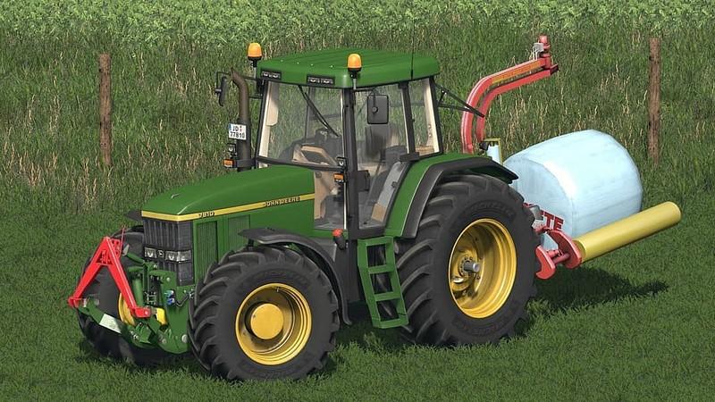 FS 17: John Deere 7710/7810 v 2 0 7000er Mod für Farming