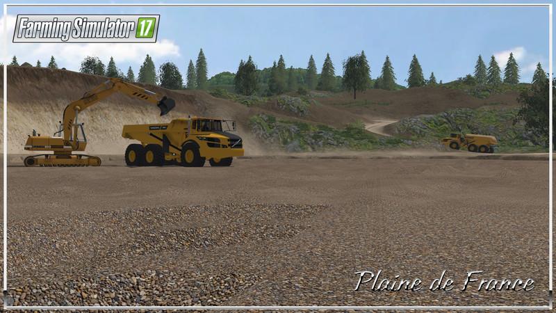 FS 17: Plaines de France v 1 00 final Maps Mod für Farming