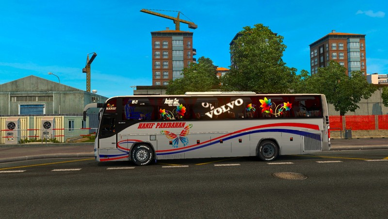 ETS 2: volvo B12BTX bus Redesign Skin texture and interior