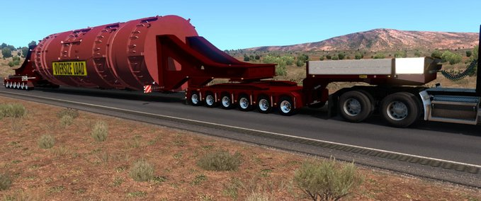 Ats-doll-trailer-with-vessel-bridge-6-and-6-axles-1-32-x