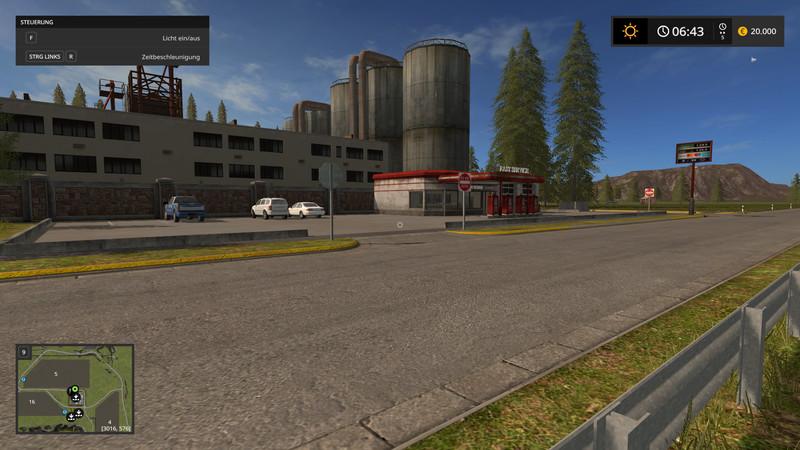 FS 17: Valley Crest Farm 4x v 1 7 9 Big Maps Mod für Farming