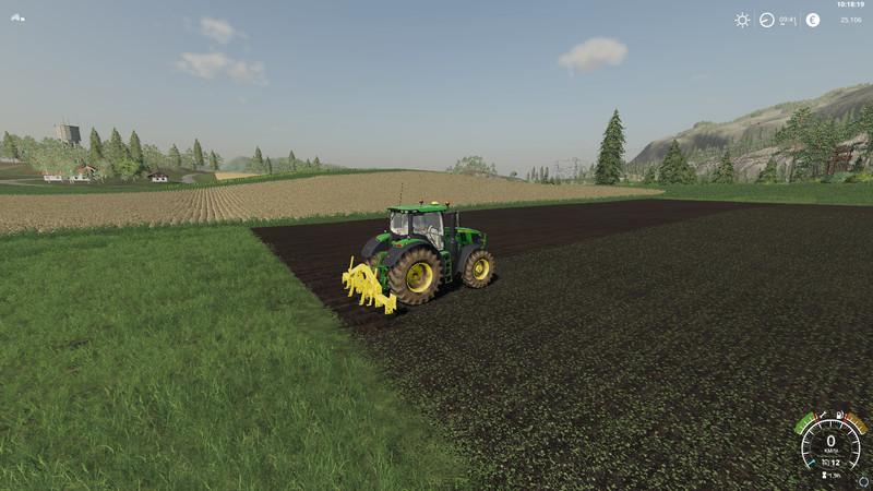 FS 19: agrisemCombiplow4M v 1 0 Ploughs Mod für Farming Simulator 19
