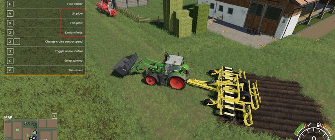 FS 19: Agrisem Cultiplow Platinum8m with plow function v 2