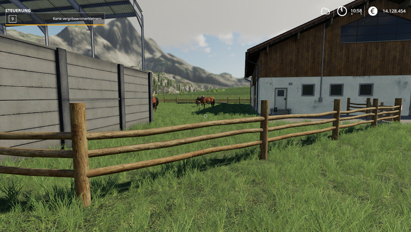 FS 19: Stable Small v 1 2 Placeable Objects Mod für Farming