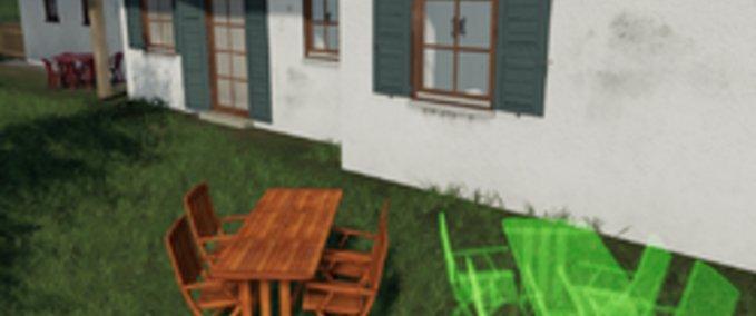 Ls 19 holztisch mit st hlen um 1 0 zu platzieren v 1 0 platzierbare objekte mod f r - Holztisch mit stuhlen ...