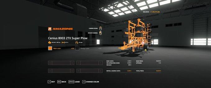 Amazone-cenius-8003-2tx-super-gamling-edition