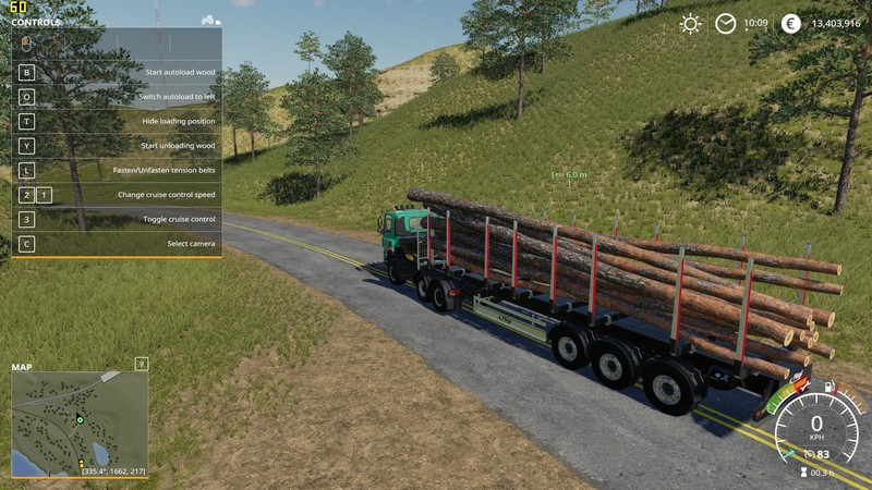 FS 19: Fliegl Timber Runner With Autoload Wood v 1 0 Other