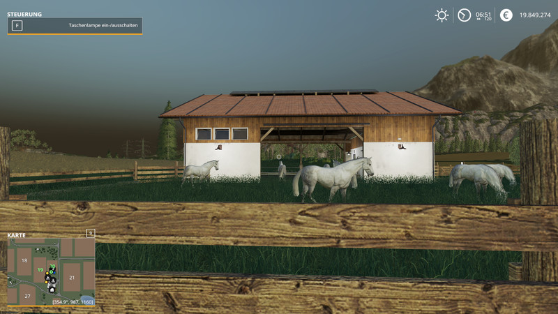 FS 19: Stable Small v 1 2 Placeable Objects Mod für Farming Simulator 19