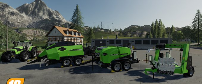 Deutz-fahr-balemaster-set