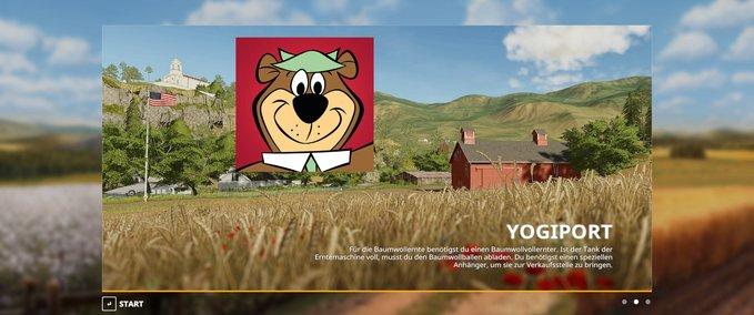 FS 19: Yogiport v 19 8 [mp] Maps Mod für Farming Simulator 19