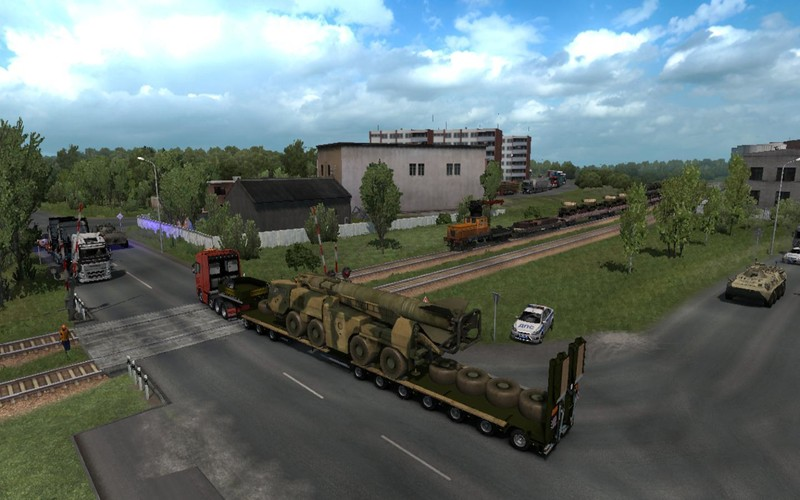 "ETS 2: ""Military Oversized Cargo"" v1 0 for DLC ""Beyond the"