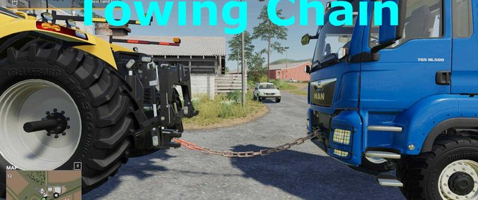 Towing-chain