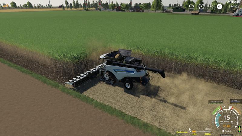FS 19: Sugar cane harvester pack v 1 5 1 Fendt Mod für Farming