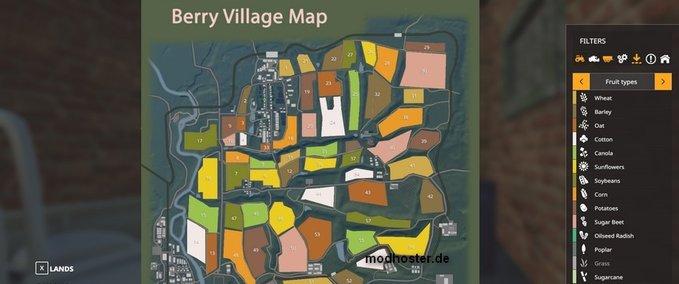 Berry-village-map