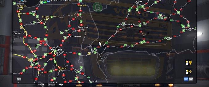 ets 2: Straßenverbindung PR 2.31 + PM 2.32 + RUSMAP 1.8.1 (update)  Maps on