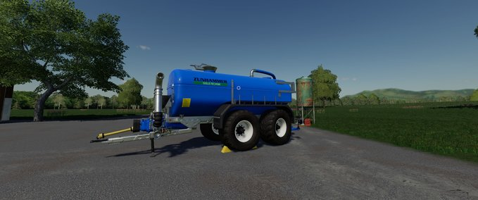 Fs 19 Zunhammer Milk And Water Barrel V 11 Tandem Mod Für Farming