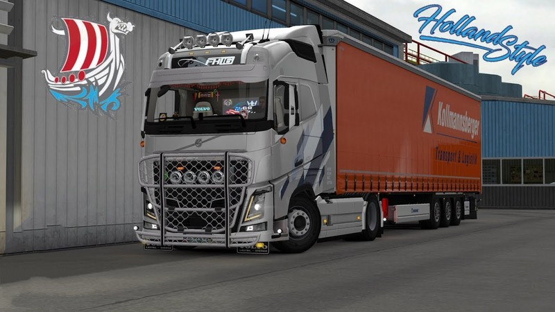 ETS 2: Volvo Addon Pack by MBL 1 33 x v 1 2 1 Volvo Mod für