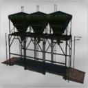 Bauernhof-silo-fertigteil