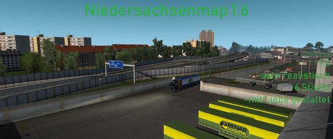 Niedersachsenmap-n-map
