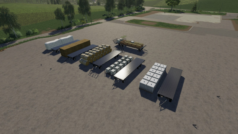 FS 19: Fliegl DPW 180 Autoload v 1 4 bale transport Mod für Farming