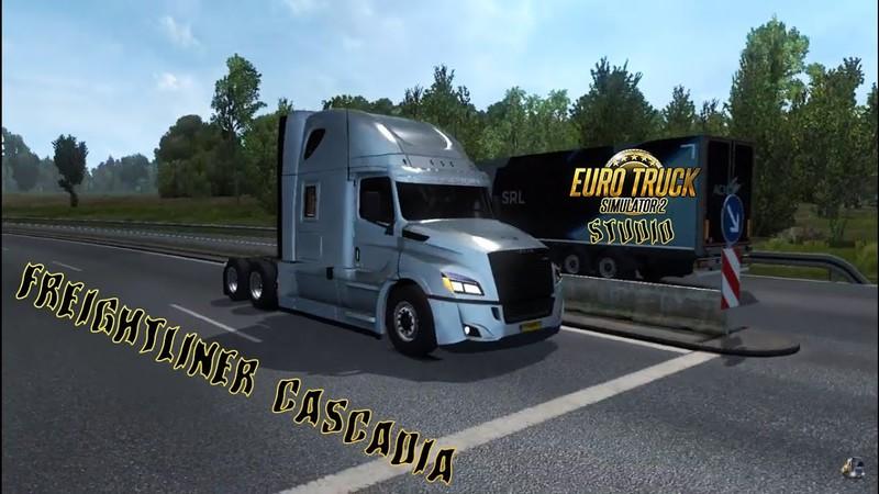 ETS 2: Freightliner Cascadia 2018 v1 5 Edit by Ultrabald