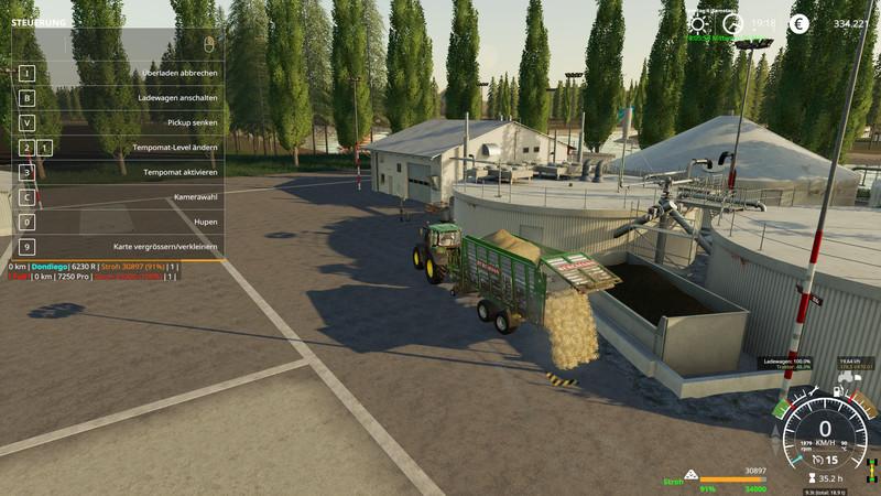 FS 19: Dondiego Map v 1 6 1 Big Maps Mod für Farming