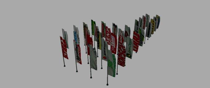 Markennamenflaggen-pack