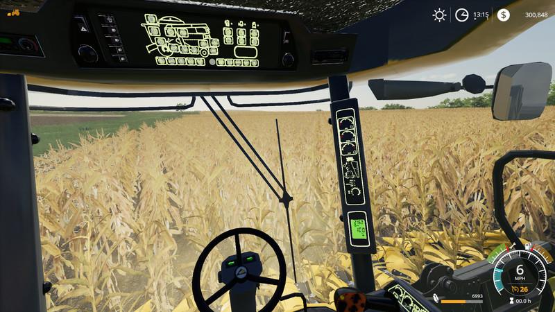 FS 19: FS19 AGCO CHALLENGER 680B HARVESTER v 1 0 Cat Mod für Farming