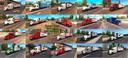 Paket-von-firmen-lkws-und-anhangern-im-strassenverkehr-von-jc-1-34-x