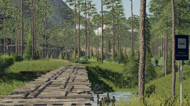 FS 19: ThüringenForst - Thuringia forest v 3 0 0 1 Maps Mod