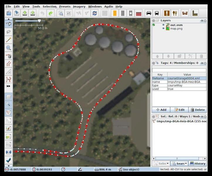 FS 19: Courseplay 6 Editor OSM Converter for FS19 v 1 0 5