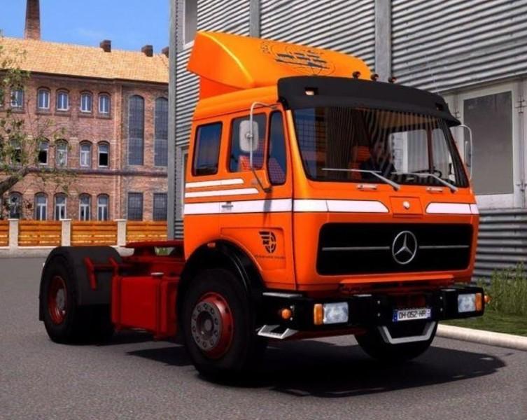 ETS 2: MERCEDES NG 1632 EDIT 1 34 X v überarbeitet Mercedes