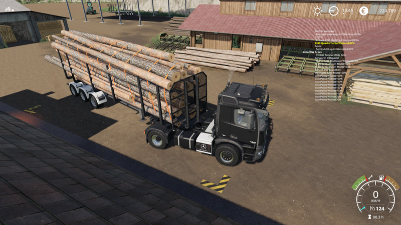 LS 19: Timber Runner Wide With Autoload Wood v 1 2 Sonstige