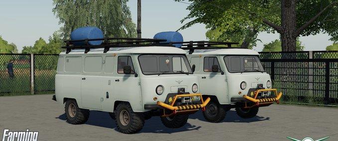 Uaz-servicewagen