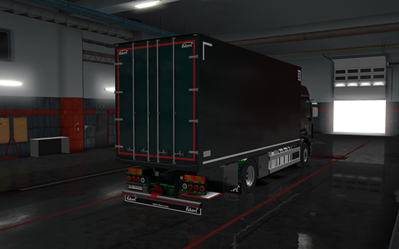 ETS 2: Rigid chassis for all SCS trucks v 1 1 Trucks Mod für