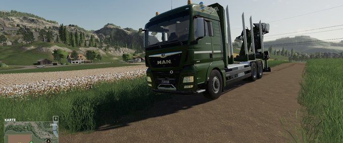 FS 19: MAN forest truck MP v 1 4 6 Trucks Mod für Farming Simulator 19