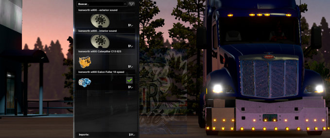 Peterbilt-579-double-bumper-works-in-the-multiplayer-1-35-x