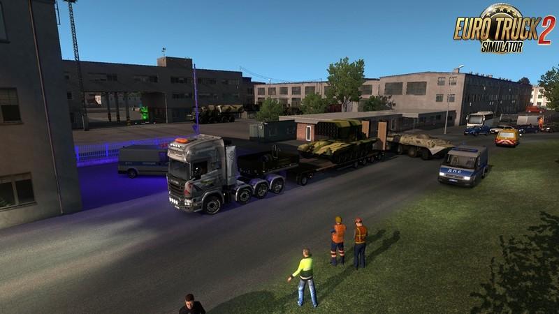 "ETS 2: ""Military Oversized Cargo"" v1 0 for DLC ""Beyond the"