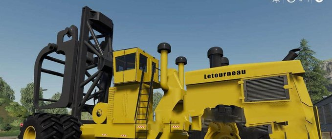 Letourneau-log-loader-mod-mod