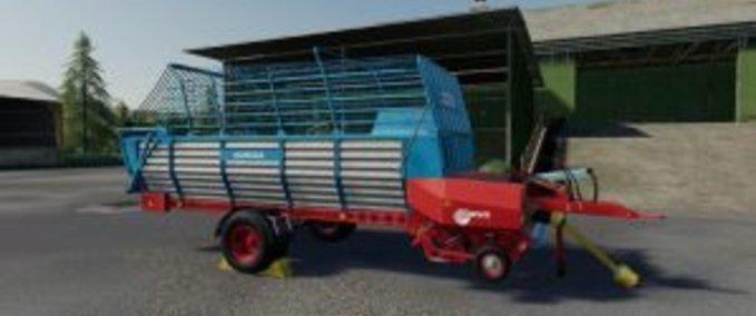 Strautmann-mengele-ladewagen
