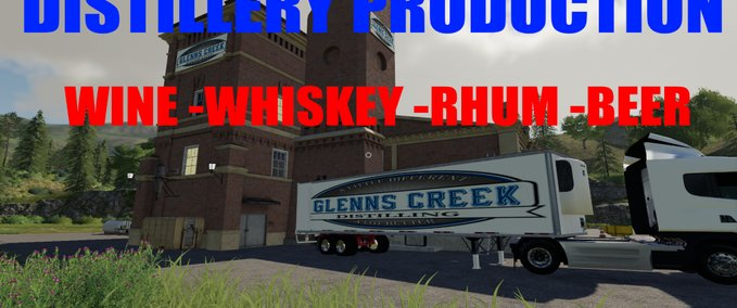 Distillery-production