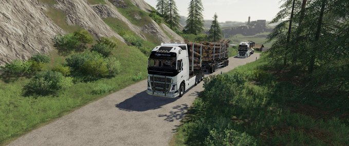 Volvo-fh16-woodchip-and-trailer--2