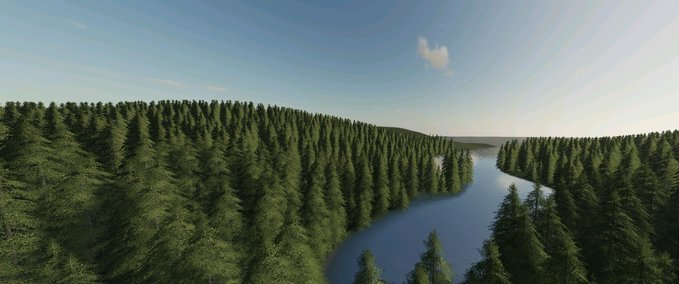 Green-mountain-forest-logging-map