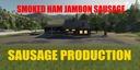 Sausage-production
