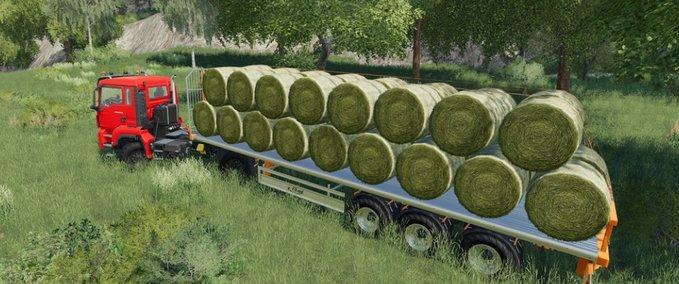 Fliegl-flatbed-semitrailer
