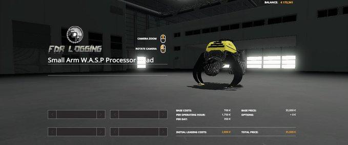 Small-arm-w-a-s-p-processor-head