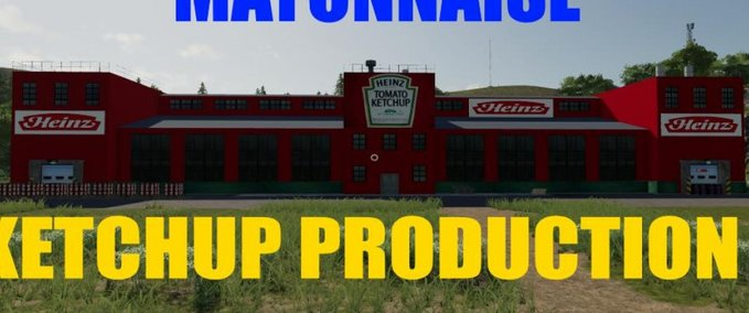 Ketchup-mayonnaise-production